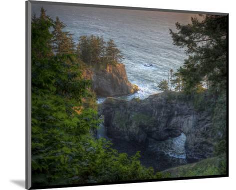 Natural Bridges Brookings, Oregon I-Michael Polk-Mounted Art Print