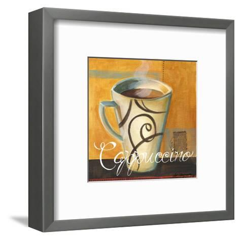 Cappuccino-Cathy Hartgraves-Framed Art Print