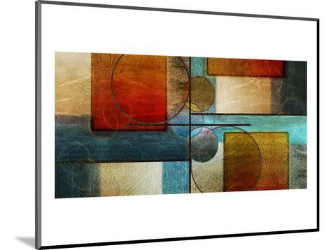 Abstract Intersections Panels I-Karin Connolly-Mounted Art Print