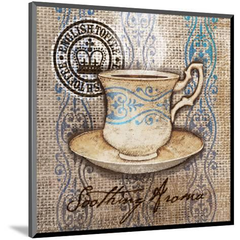 Coffee Cup I Aroma-Alan Hopfensperger-Mounted Art Print