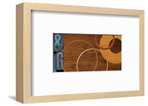 Interchange 87-SM Design-Framed Art Print