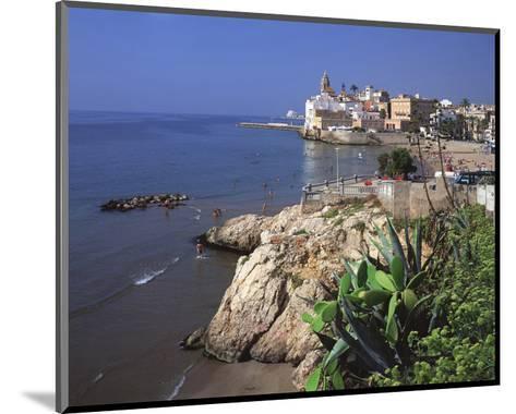 View Playa San Sebastian Spain--Mounted Art Print