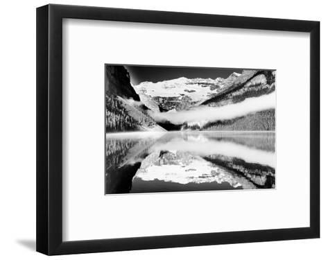 Reflections, Lake Louise, Banff, Alberta--Framed Art Print