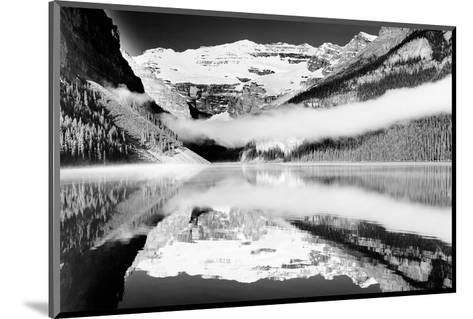 Reflections, Lake Louise, Banff, Alberta--Mounted Art Print
