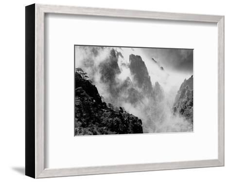 Misty Huangshan, China--Framed Art Print