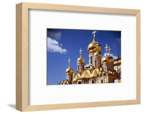Kremlin Cathedrals, Moscow--Framed Art Print