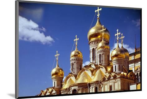 Kremlin Cathedrals, Moscow--Mounted Art Print
