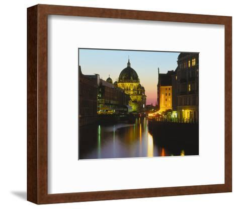 Berlin Cathedral River Berlin--Framed Art Print