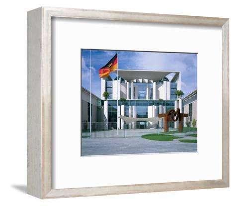 Federal Chancellery, Berlin--Framed Art Print