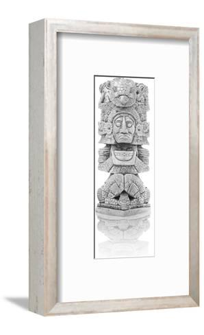 Antique Inca Statue--Framed Art Print