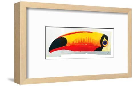 Lovely Day Toucan--Framed Art Print