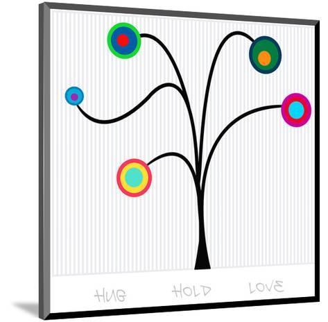 Pendulum Tree Hug Hold Love--Mounted Art Print