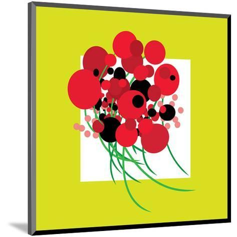 Burstin' Bouquet--Mounted Art Print