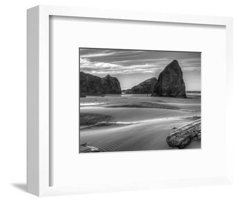 Myers Creek Beach 2-Michael Polk-Framed Art Print
