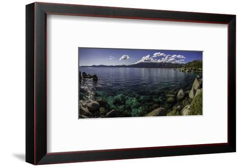 Sand HarborPanorama-Michael Polk-Framed Art Print