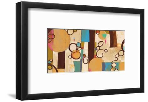 Concept Abstract 03-Kurt Novak-Framed Art Print