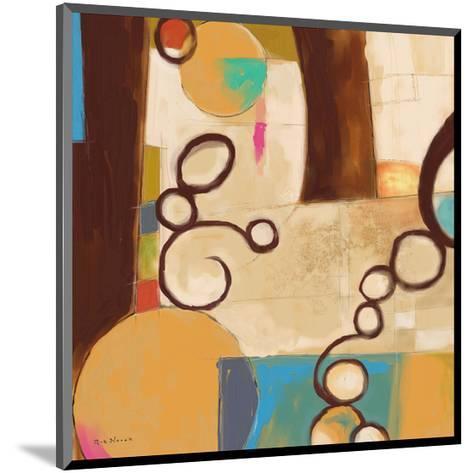 Concept Abstract 05-Kurt Novak-Mounted Art Print