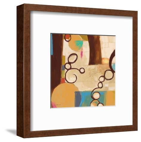 Concept Abstract 05-Kurt Novak-Framed Art Print