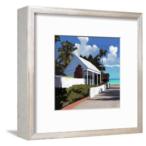 Conch Republic 01-Kurt Novak-Framed Art Print