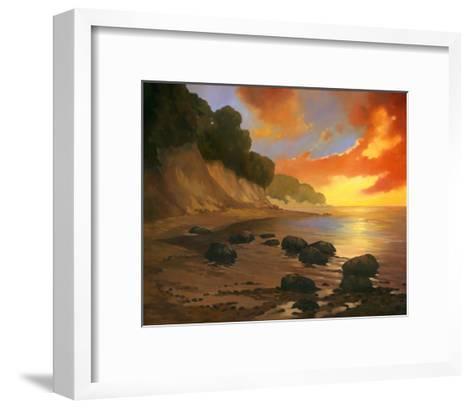 July Evening II-Graham Reynolds-Framed Art Print