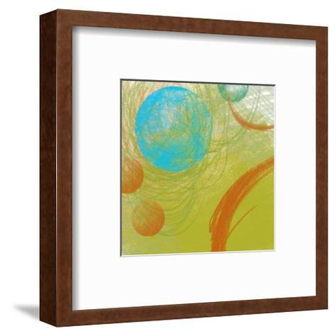 Peace II-Yashna-Framed Art Print