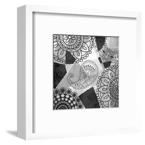 Abstract Floral Pattern-Irena Orlov-Framed Art Print