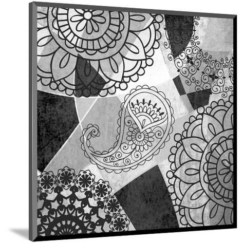Abstract Floral Pattern-Irena Orlov-Mounted Art Print
