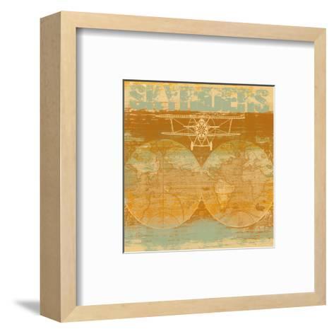 Skyriders-Yashna-Framed Art Print