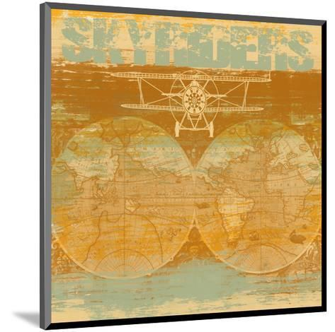 Skyriders-Yashna-Mounted Art Print