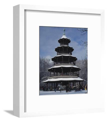 Chinese Tower Munich Germany--Framed Art Print