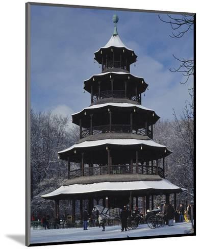 Chinese Tower Munich Germany--Mounted Art Print