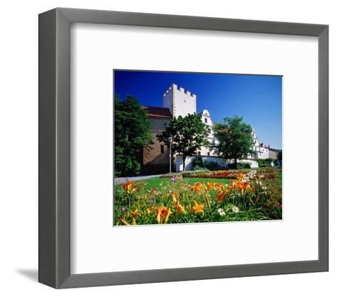 New Castle Amberg Germany--Framed Art Print