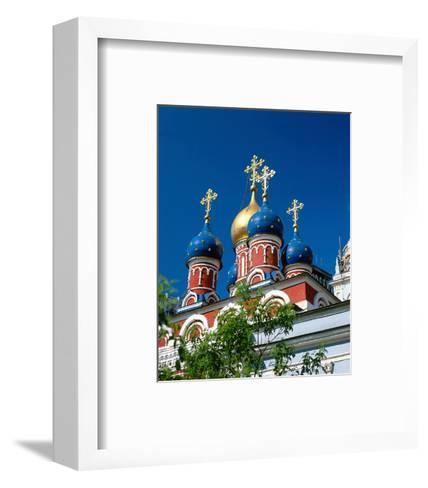 Onion towers, Moscow, Russia--Framed Art Print