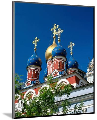 Onion towers, Moscow, Russia--Mounted Art Print