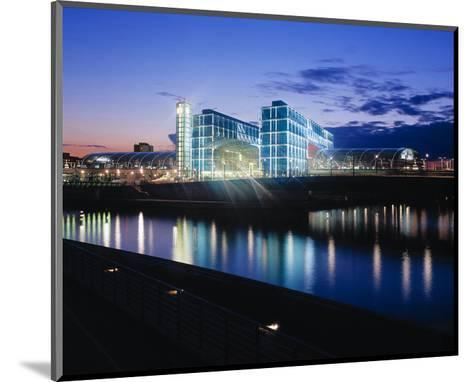 Berlin Central Station Spree--Mounted Art Print