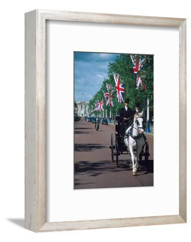 Parade with coach, London, United Kingdom of Great Britain--Framed Art Print