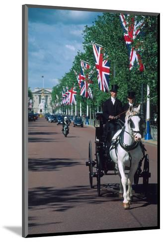 Parade with coach, London, United Kingdom of Great Britain--Mounted Art Print