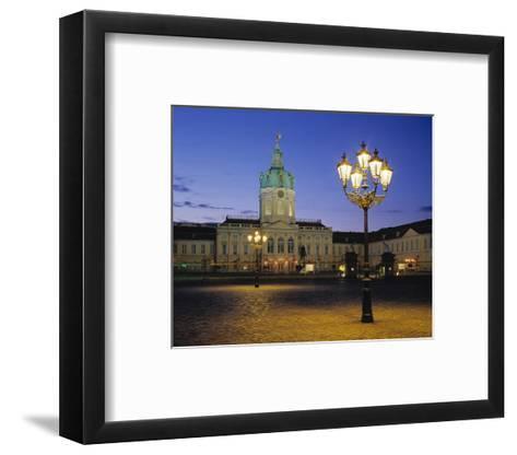 Charlottenburg Castle, Berlin--Framed Art Print