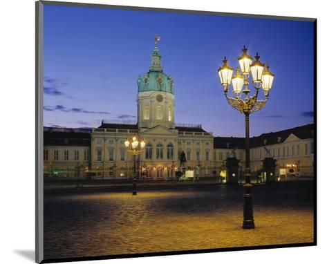 Charlottenburg Castle, Berlin--Mounted Art Print