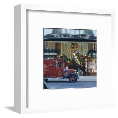 Burlington Arcade, London, England, United Kingdom of Great Britain--Framed Art Print