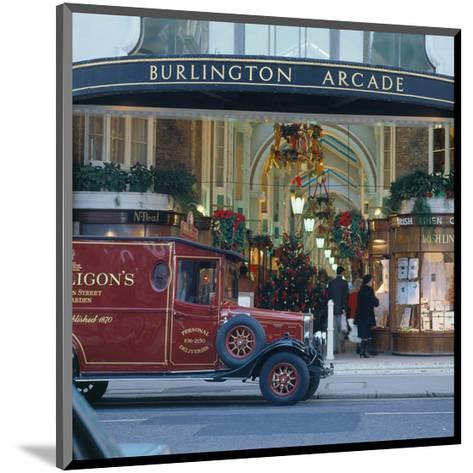 Burlington Arcade, London, England, United Kingdom of Great Britain--Mounted Art Print
