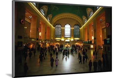 Grand Central Station, New York City, New York, USA--Mounted Art Print