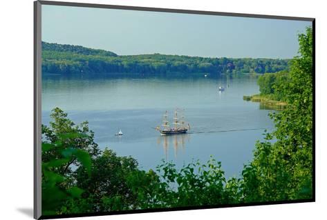 Landscape at Havel River near Nikolskoe, Berlin, Germany--Mounted Art Print