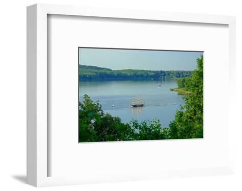 Landscape at Havel River near Nikolskoe, Berlin, Germany--Framed Art Print