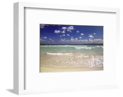 Beach of Alcudia, Mallorca, Balearic Islands, Spain--Framed Art Print