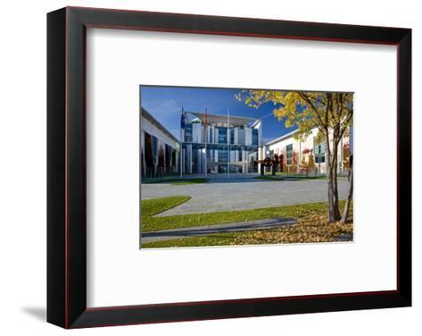 Federal Chancellery Building, Berlin Mitte District, Berlin, Germany--Framed Art Print