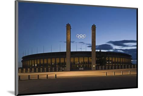 Olympic Stadium in Berlin, Germany--Mounted Art Print