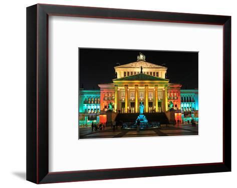 Festival of Lights, Berlin Theatre at Gendarmenmarkt, Berlin, Germany--Framed Art Print