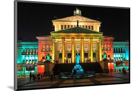 Festival of Lights, Berlin Theatre at Gendarmenmarkt, Berlin, Germany--Mounted Art Print