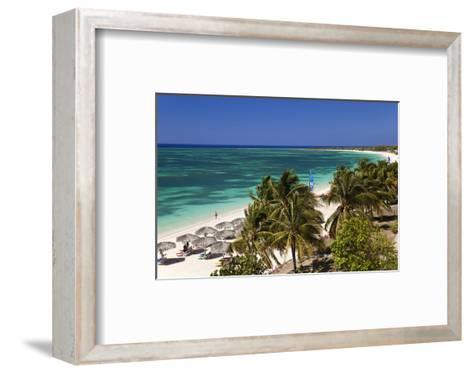 Playa Ancon Beach near Trinidad, Cuba--Framed Art Print